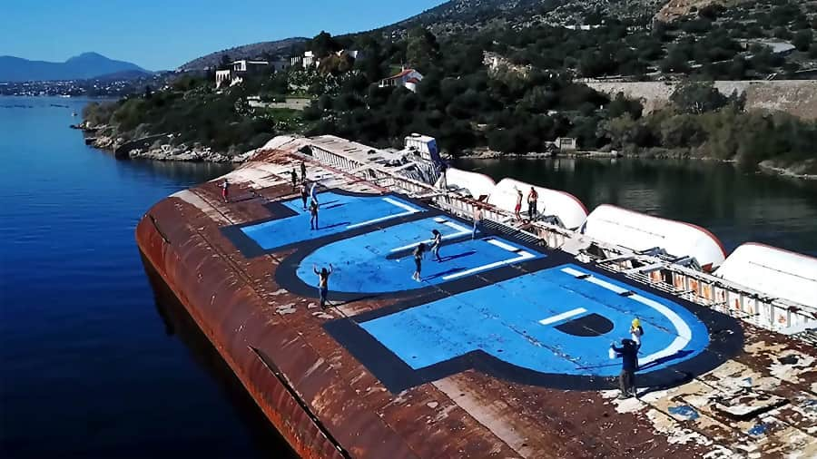 1UP – Mediterranean Sky – The Ship