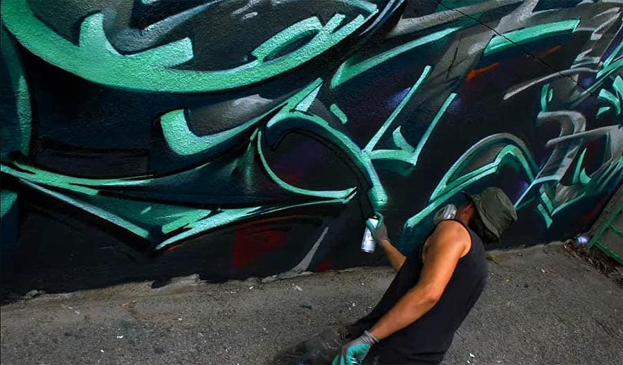 Graffiti Session: KORB