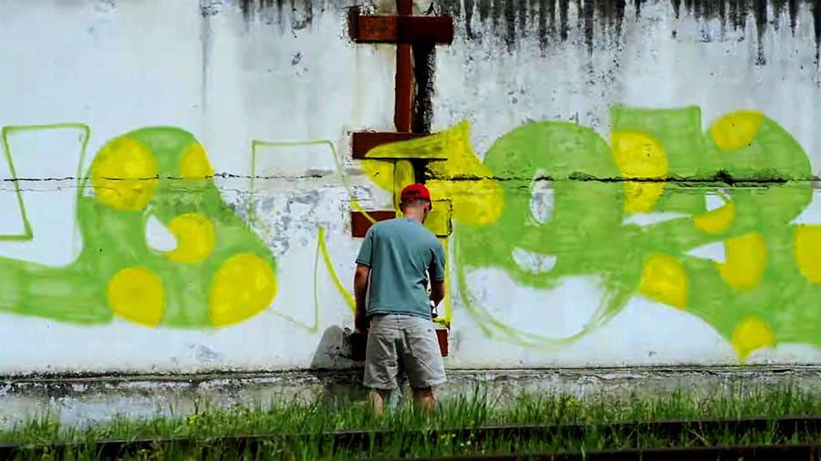 GRAFFITI | Lamb, Djone2, Atoms