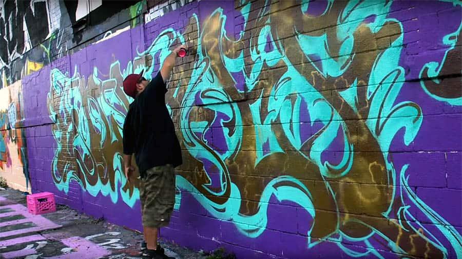 Graffiti Session: Killa-EF