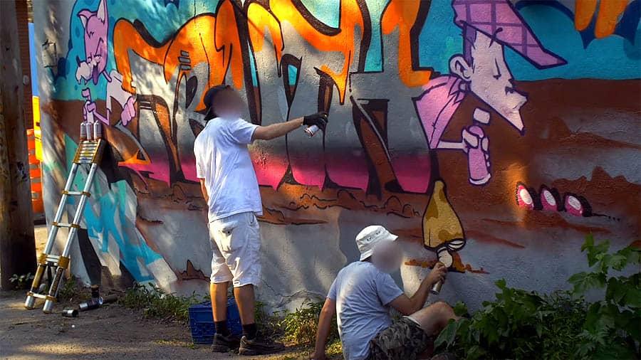 Graffiti Session: Senck & Snipe
