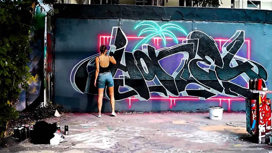 NEON GRAFFITI — HONEY X SPOARE