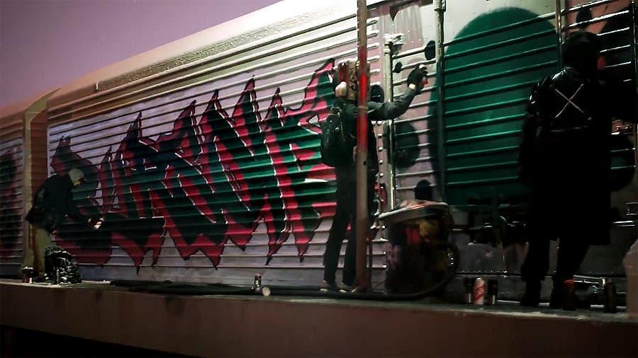 Freight train | Burs One & Bozik & Sram