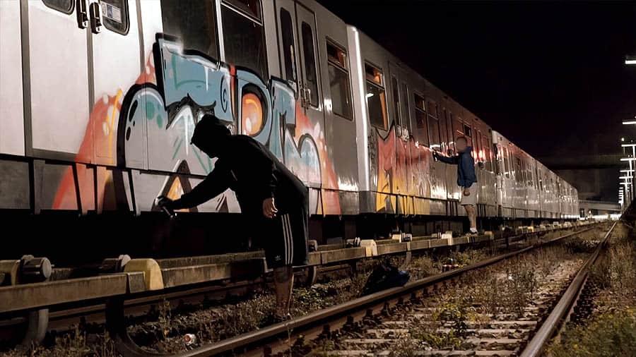 OutcasTilDeath   Graffiti with Flues & Osco