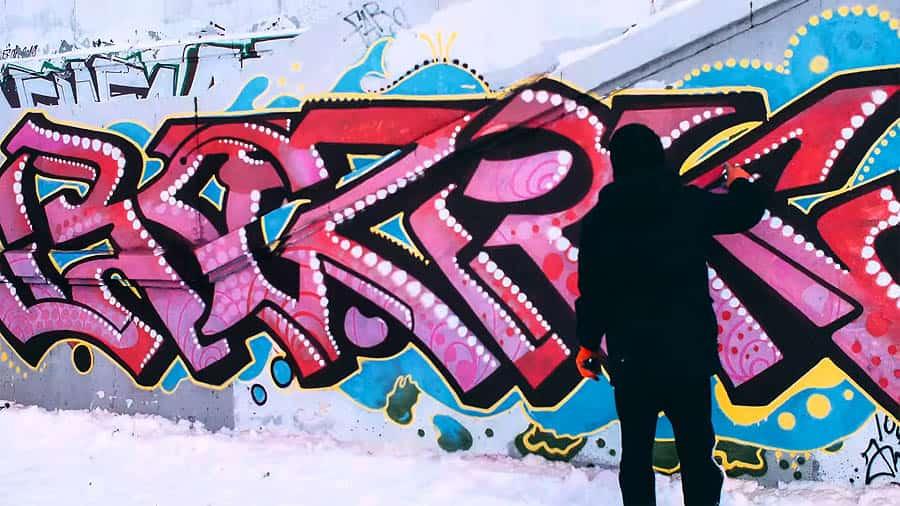 BOZIK x KOSM | Winter graffiti