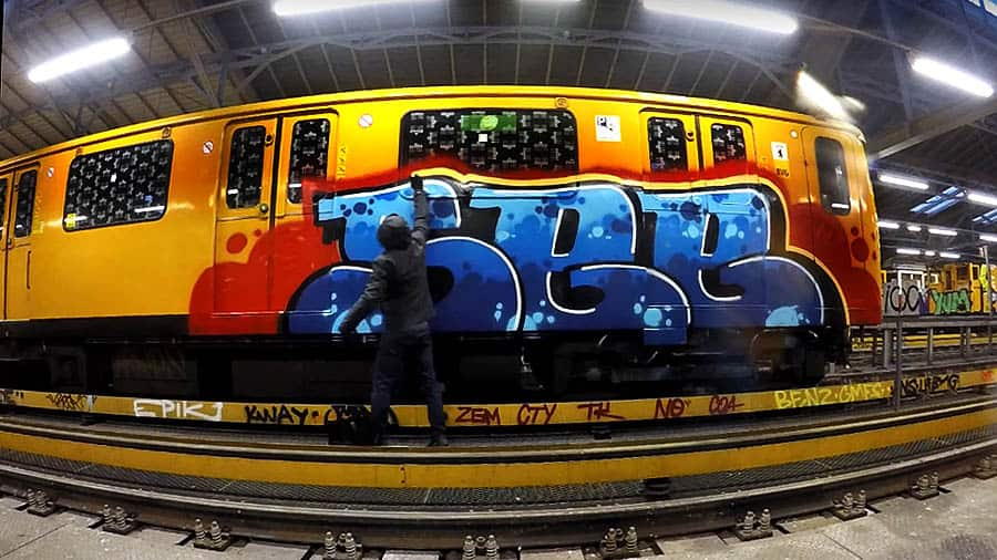 SEE HG MPV / ENRO / BERLIN GRAFFITI METRO