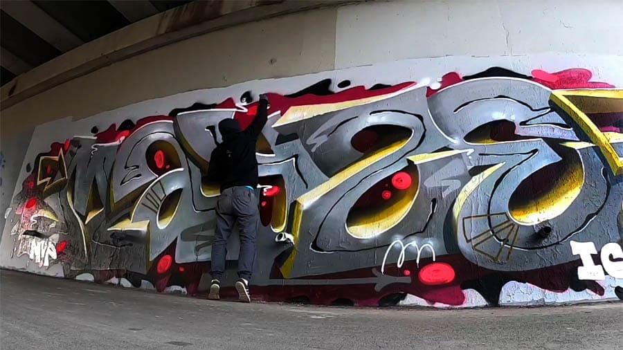 Mayze 3d graffiti 2020