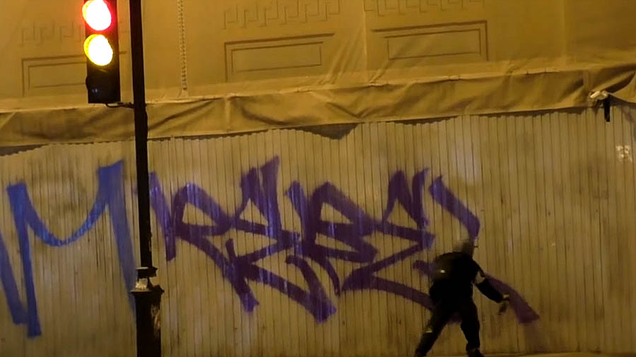 REBEL STYLE — BOMBING, TAGGING, ROOFTOP