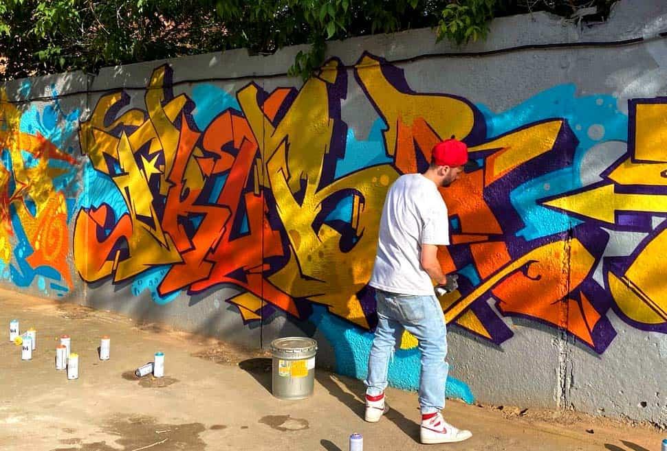 Граффити-фестиваль CANS & FRIENDS в первой городской сидрерии Rebel Apple