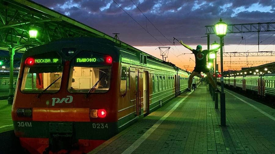 Fear and Loathing in Yaroslavskiy line