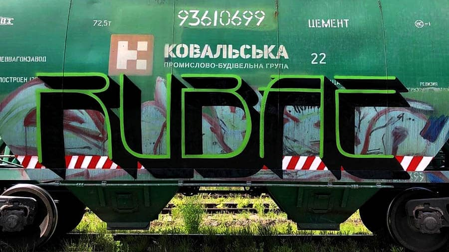 Kovalska freight trains
