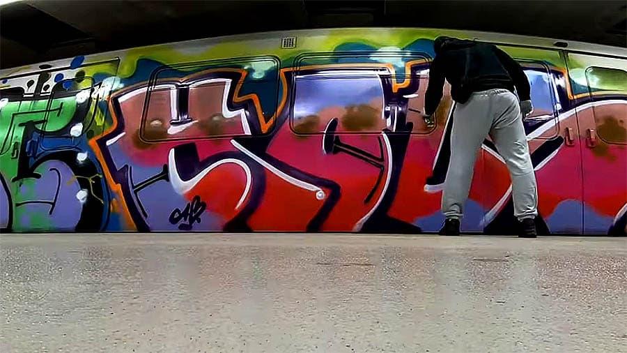 Take It Easy Graffiti #3