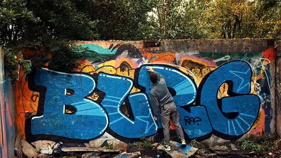 GRAFFITI BOMB BY BURG 2020
