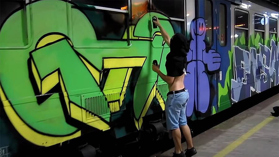 Wrong side of the tracks — JIZZ