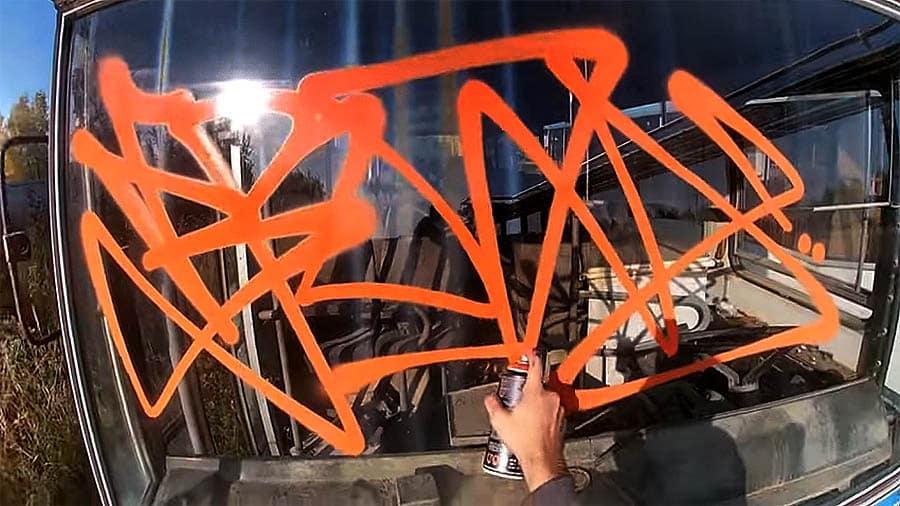 BRADO STF — Graffiti tagging