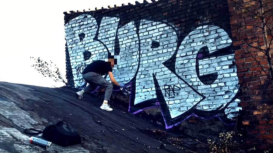TAGGING and BOMB by BURG