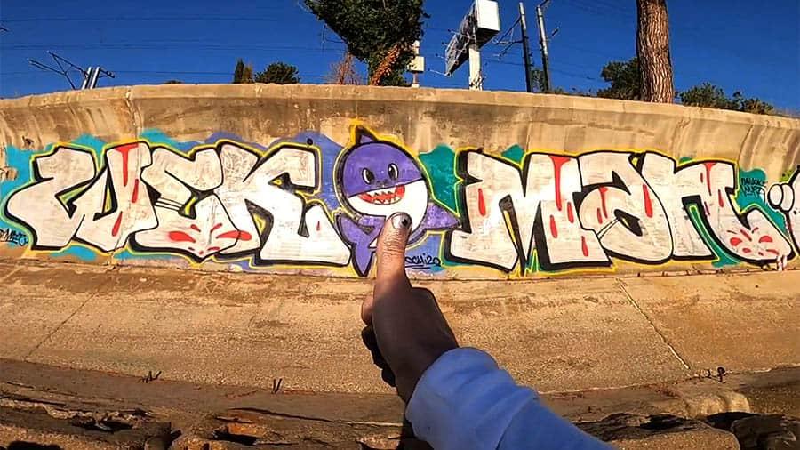 WekMan | Graffiti trip in Sochi part.1-3