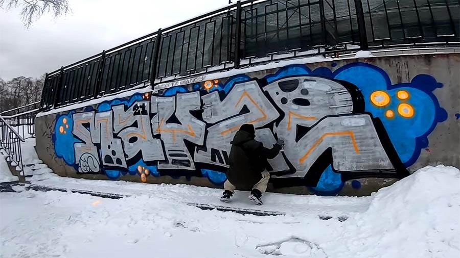 MAYZE | Winter graffiti