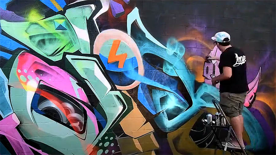 HELIOBRAY GRAFFITI in LOS ANGELES