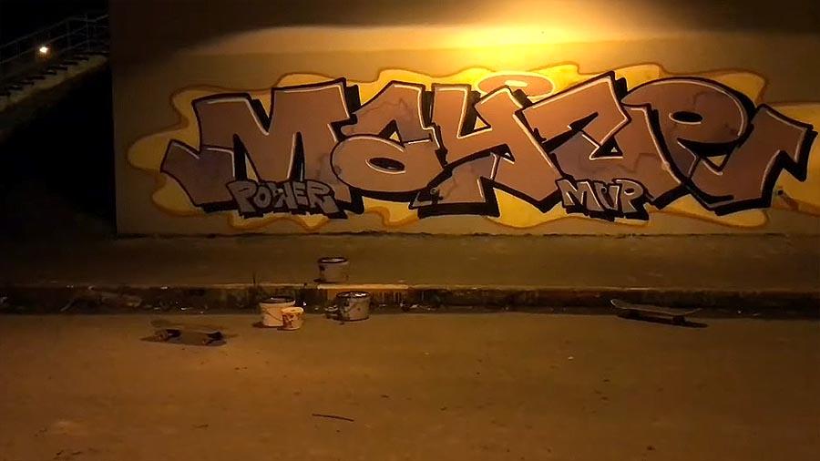MAYZE | Graffiti day and rooftop
