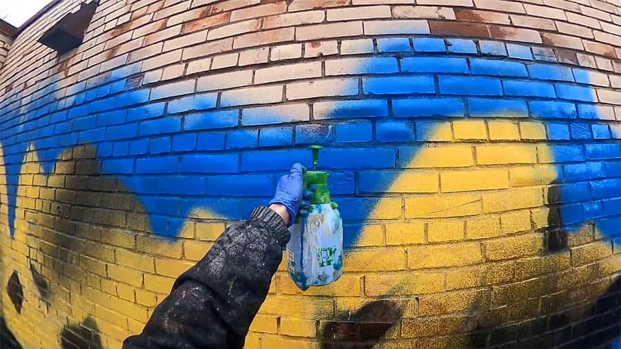 ABUK | Граффити поливалка