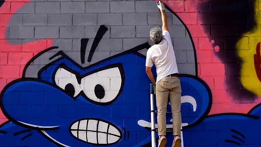 GIGANTIC GRAFFITI: ELLR & KOLL
