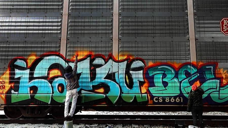 KCM CREW | GRAFFITI BOMBING