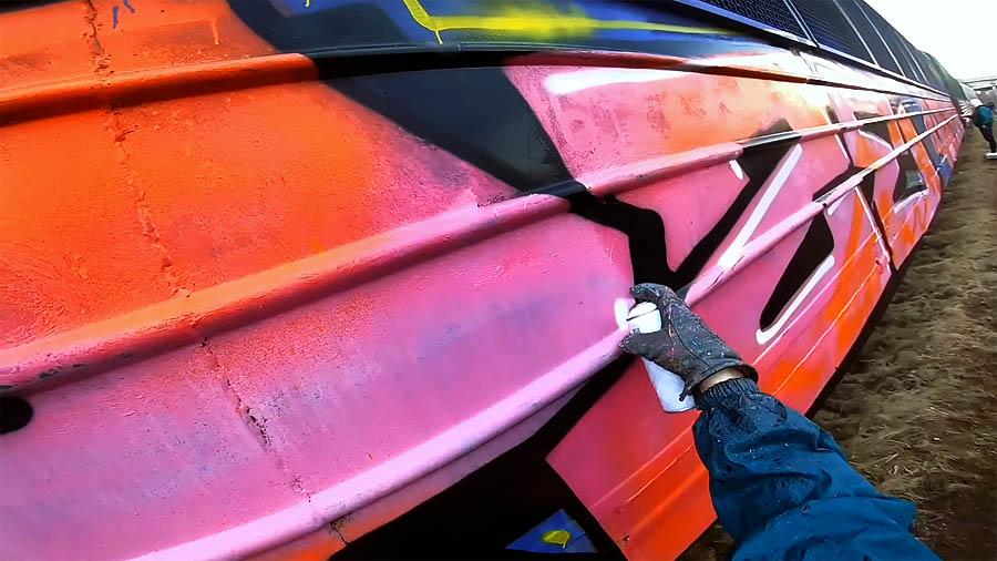 MAYZE | Graffiti bombing