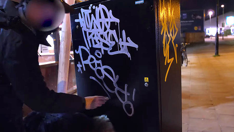 Graffiti Session: Handstyles with On The Run Mops