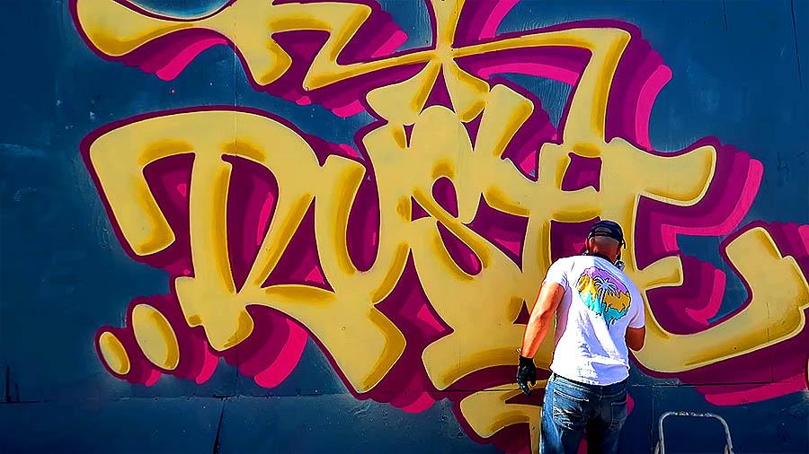 Graffiti Session: RUSTE