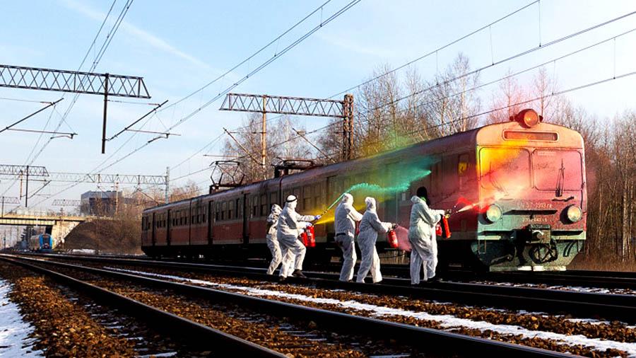 Train In Paint Vol.3