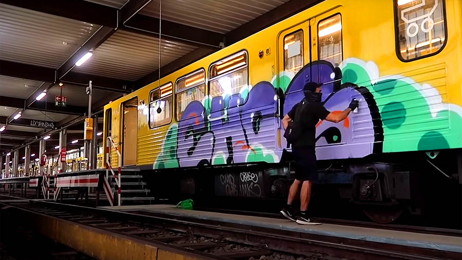 MetroSports EU — EHC Graffiti