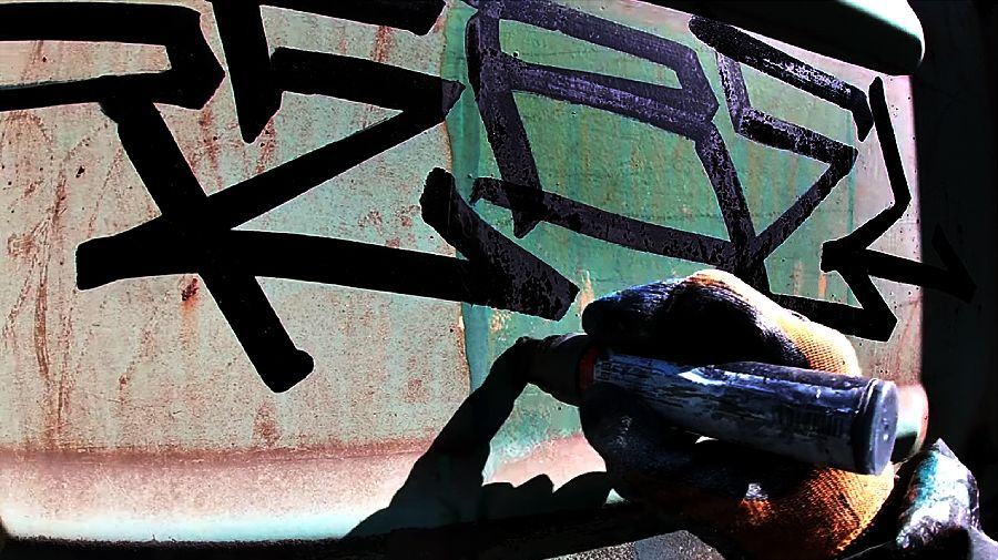 Rebel813 | Handstyle on freight trains