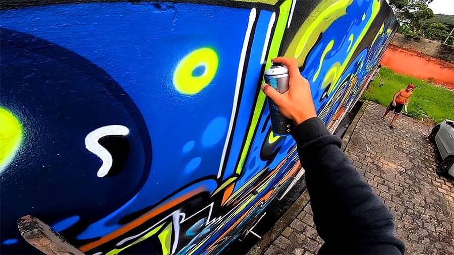 My Brain on LSD | Painting a Huge Wall