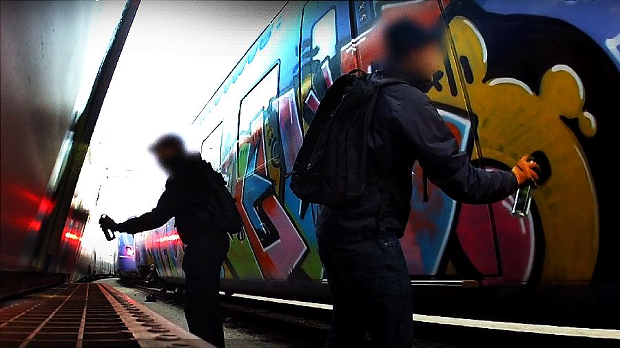 Wrong side of the tracks — Crime city visit