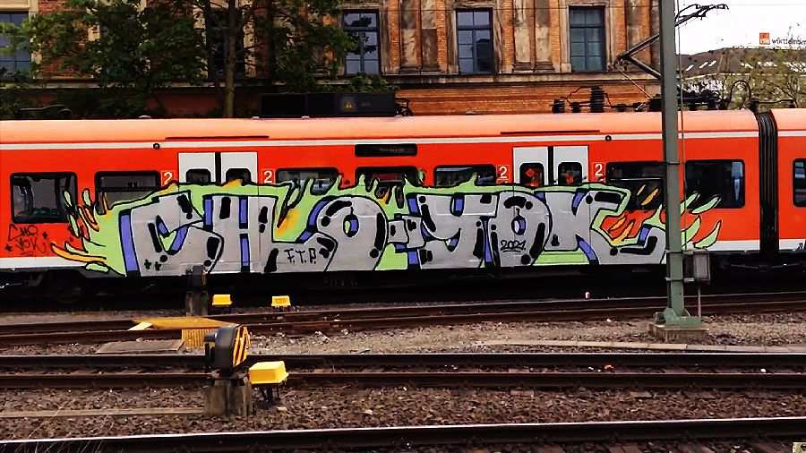 Hamburg & Hannover Graffiti Trains — Vol.1 2021