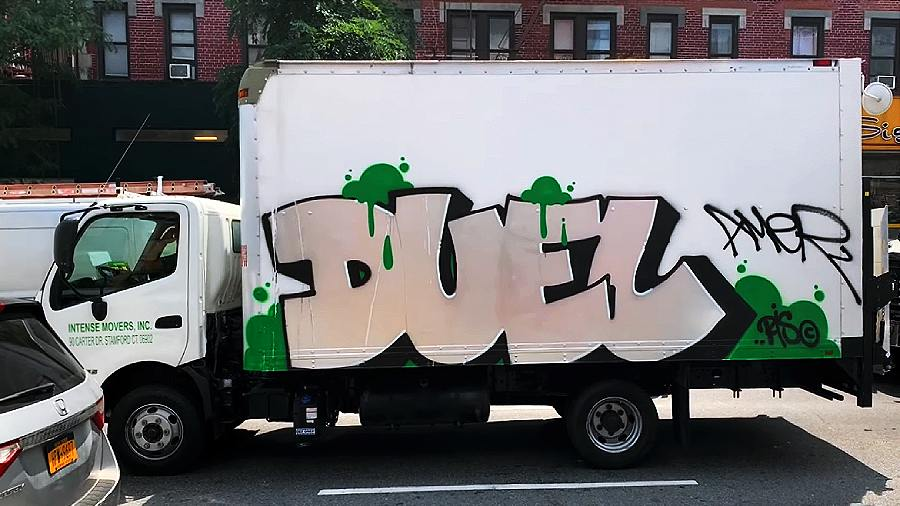 Downtown Graffiti NYC — Summer 2021