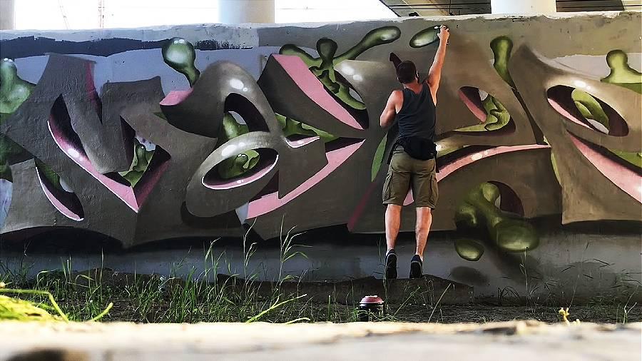 MAYZE 3d graffiti