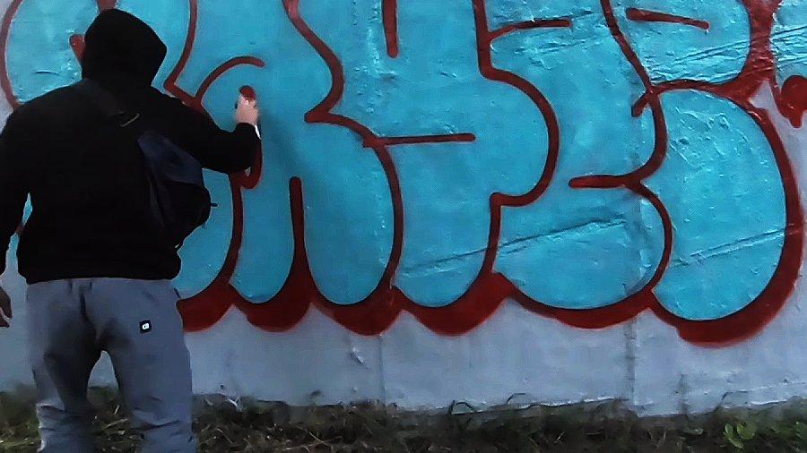 Summer graffiti and lifestyle