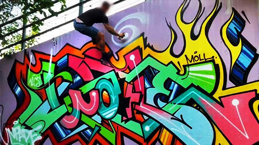 Graffiti Sessions — WAFFLE