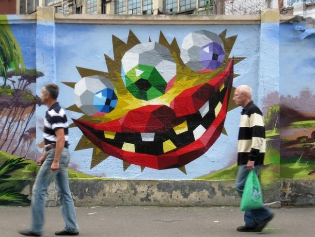 Sy граффити