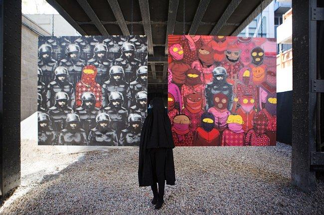 Banksy и Os Gemeos