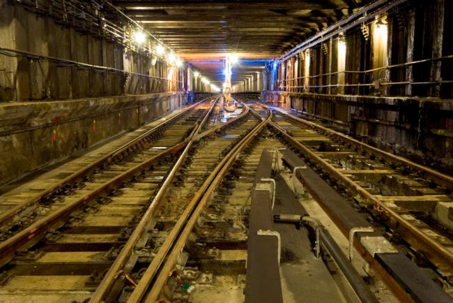 Заброшенная линия метро, Нью-Йорк