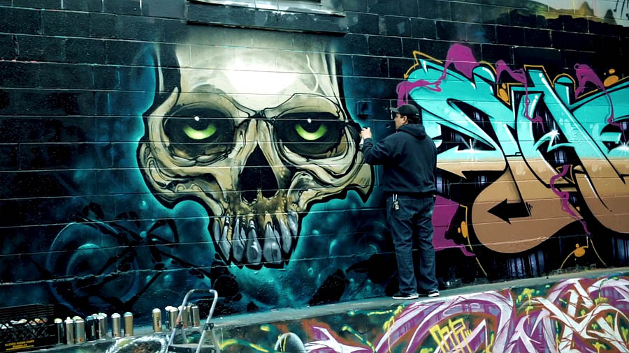 420 граффити
