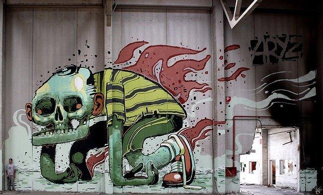 ARYZ граффити