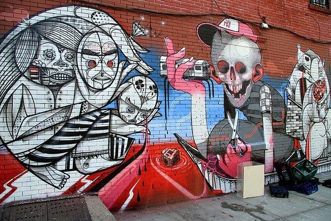 ARYZ уличный художник