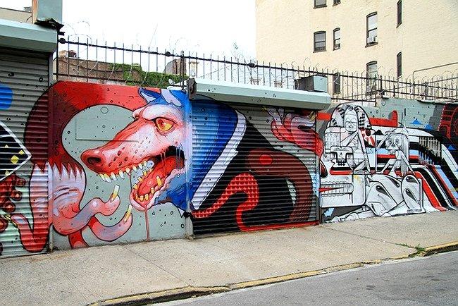 граффити ARYZ