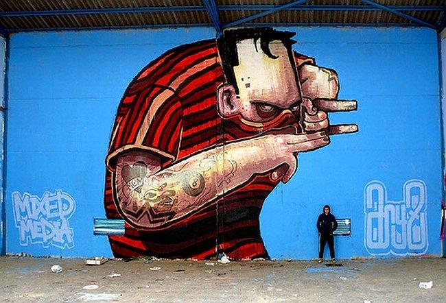 ARYZ граффити работы